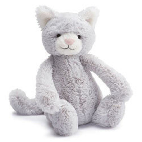 Bashful Grey Kitty, Small