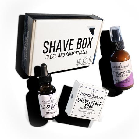 Peregrine Shave Box