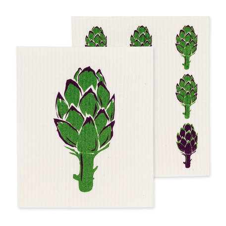 Swedish Dish Cloth, Artichoke