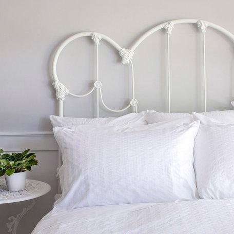 St. Geneve Kim Queen Pillowcase, White, set of 2