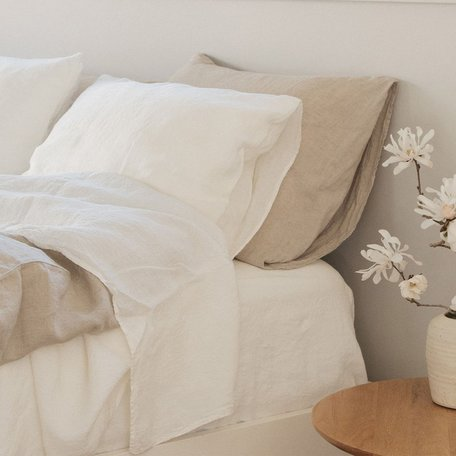 Somn Natural Linen Bedding