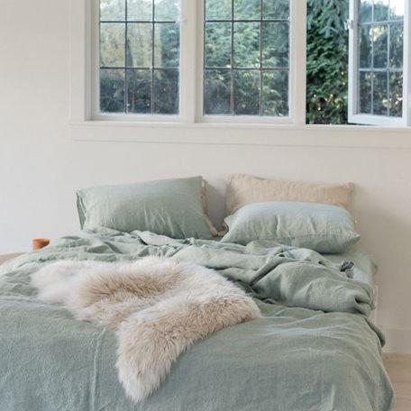 Somn Sage Linen Bedding