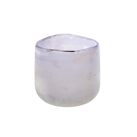 Frosted Lilac Roca Votive