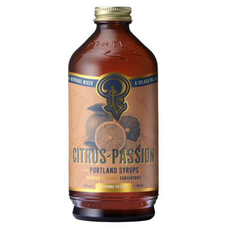 Portland Syrups Citrus Passion 12oz