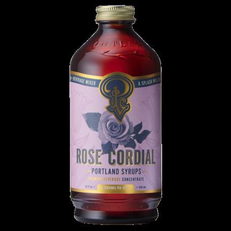 Portland Syrups Rose Cordial 12oz