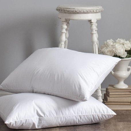 Heirloom Down Pillow - King, Medium Fill