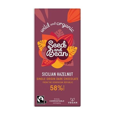 Seed & Bean Hazelnut Dark Chocolate 55%