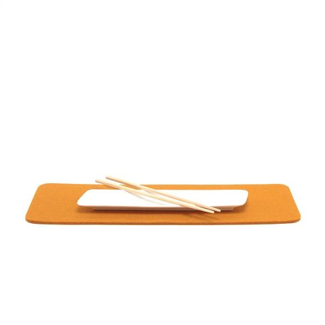 Graf Lantz Large Rectangle Tile Trivet, Turmeric