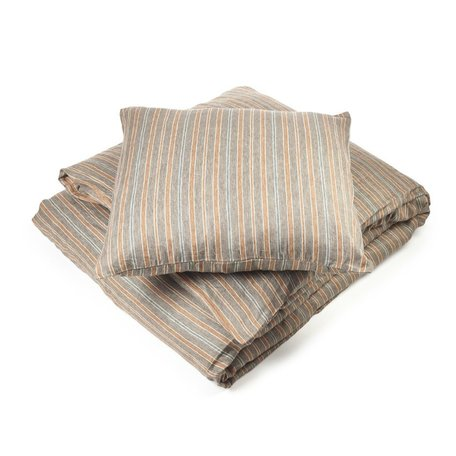 Libeco Ingersol Stripe Queen Duvet Cover