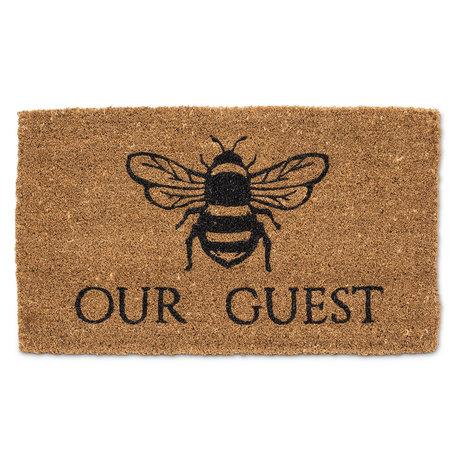 Abbott Bee Our Guest Doormat