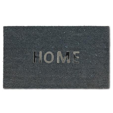 """Abbott Urban Home Doormat 18x30"""" Grey"""