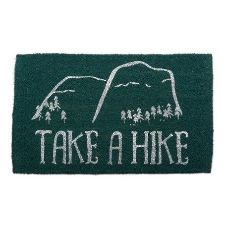 Tag Take a Hike Coir Mat