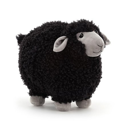 Jelly Cat Rolbie Sheep Black