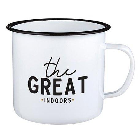 Creative Brands Enamel Mug Great Indoors