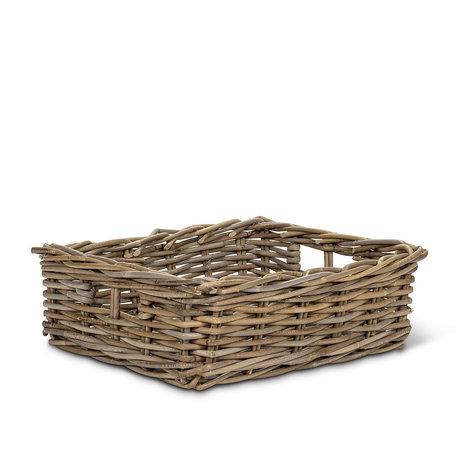 "Abbott Low Rectangle Basket 14x18"""