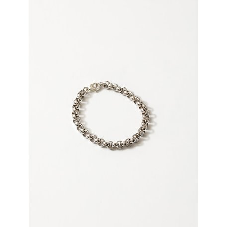 Wolf Circus Bracelet Camden Chain Silver