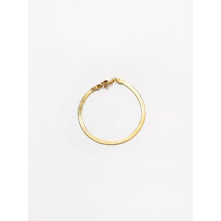 Wolf Circus Bracelet Herringbone Gold