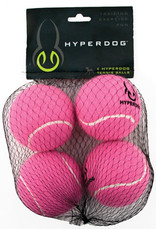 Hyper Pet HYPER PET Tennis Balls 4pk Pink