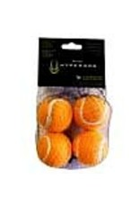 Hyper Pet HYPER PET Mini Tennis Balls 4pk Orange