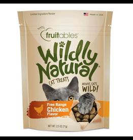 Fruitables FRUITABLES Cat Wildly Natural Chkn 2.5oz