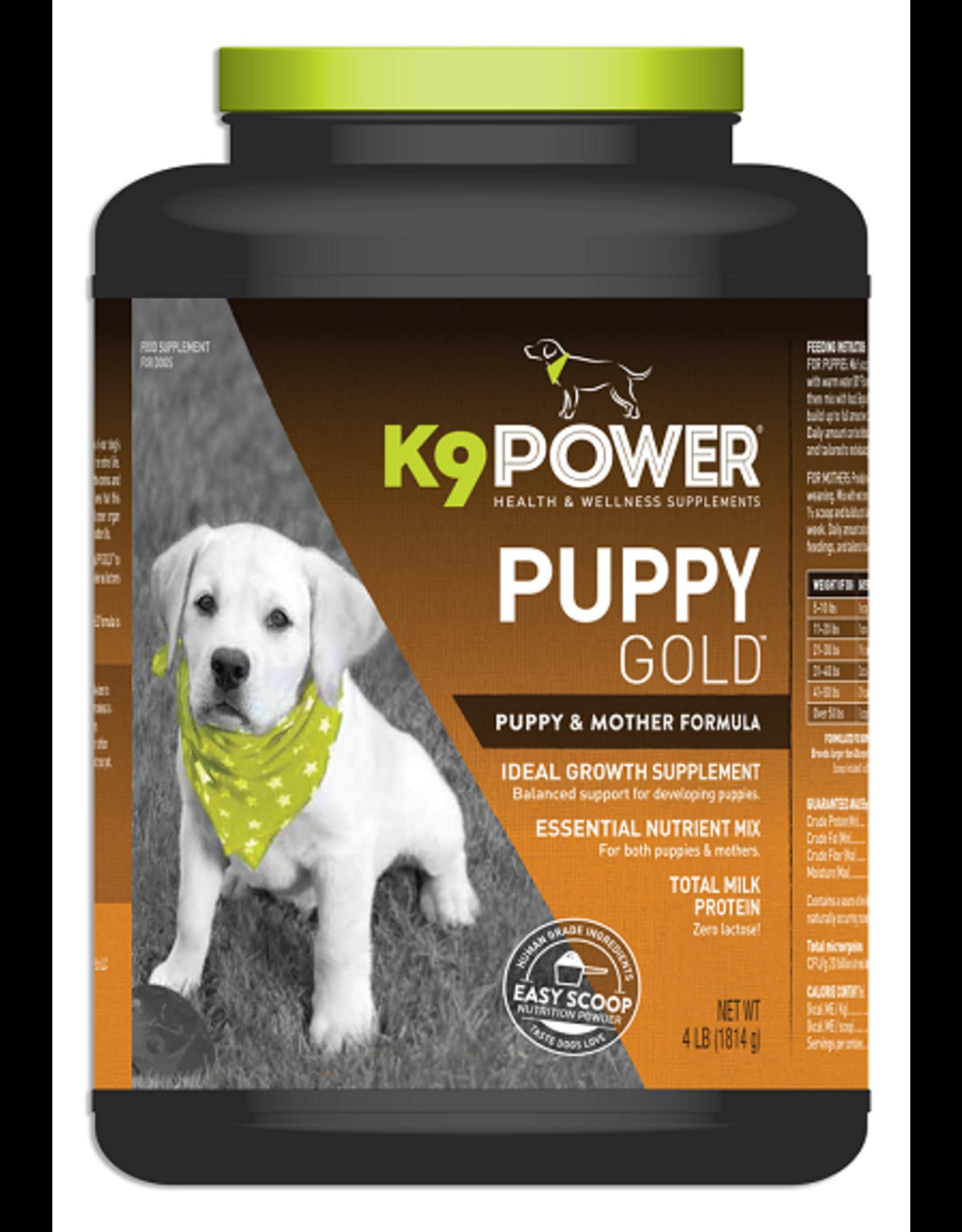 K9 Power K9 POWER Puppy Gold 4#