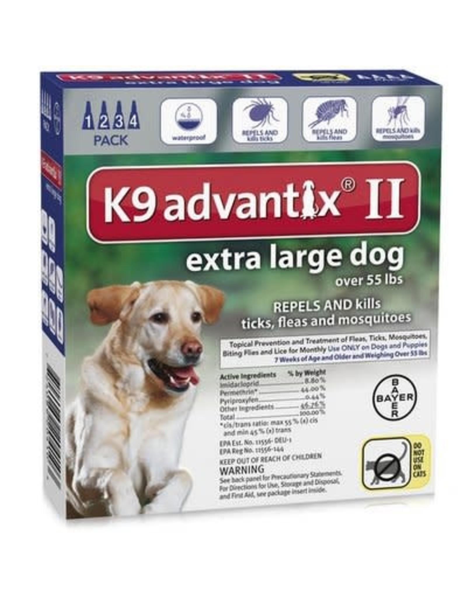 Advantix ADVANTIX II Dog Blue 4pk 55