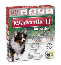 Advantix ADVANTIX II Dog Red 4pk 21-55lb