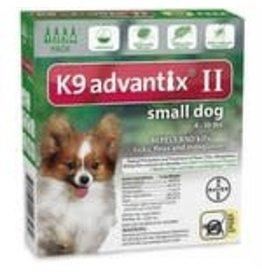 Advantix ADVANTIX II Dog Green 4pk 4-10lb