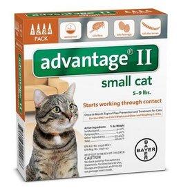 Advantage ADVANTAGE II Cat Orange 4pk 0-9lb