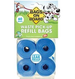 Bags On Board BAGSONBOARD Refill Bags Blue 60ct