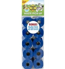 Bags On Board BAGSONBOARD Refill Bags Blue 140ct