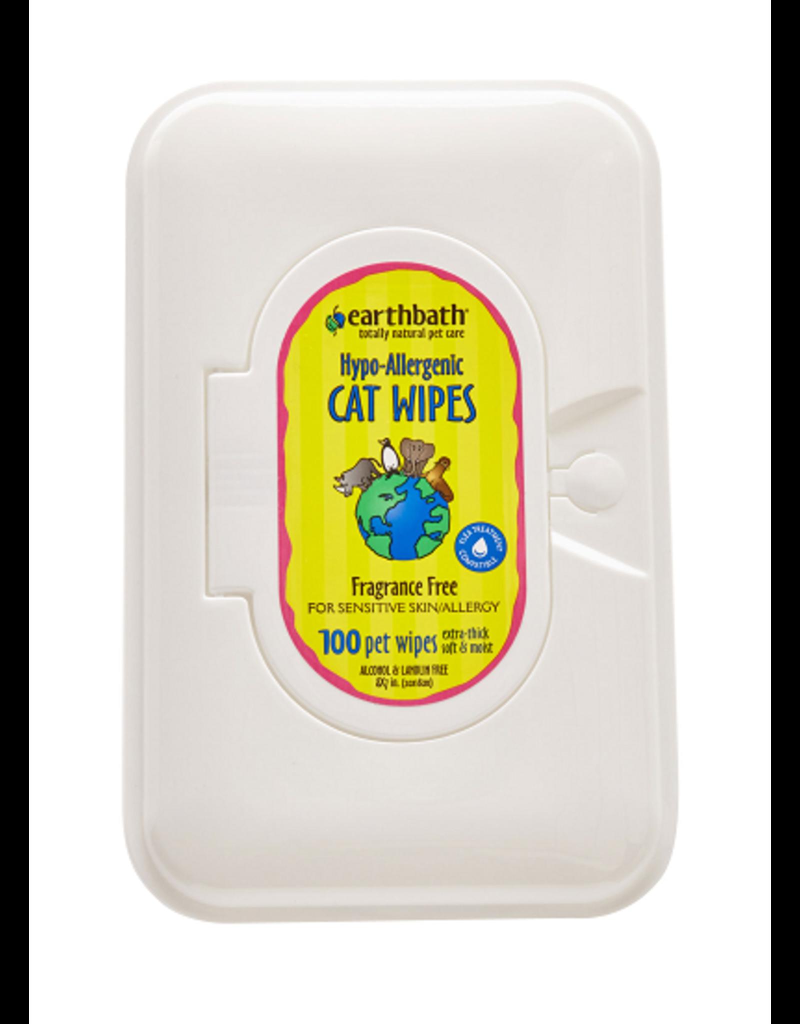 Earthbath EARTHBATH Wipes Cat Hypo-Allergenic 100ct