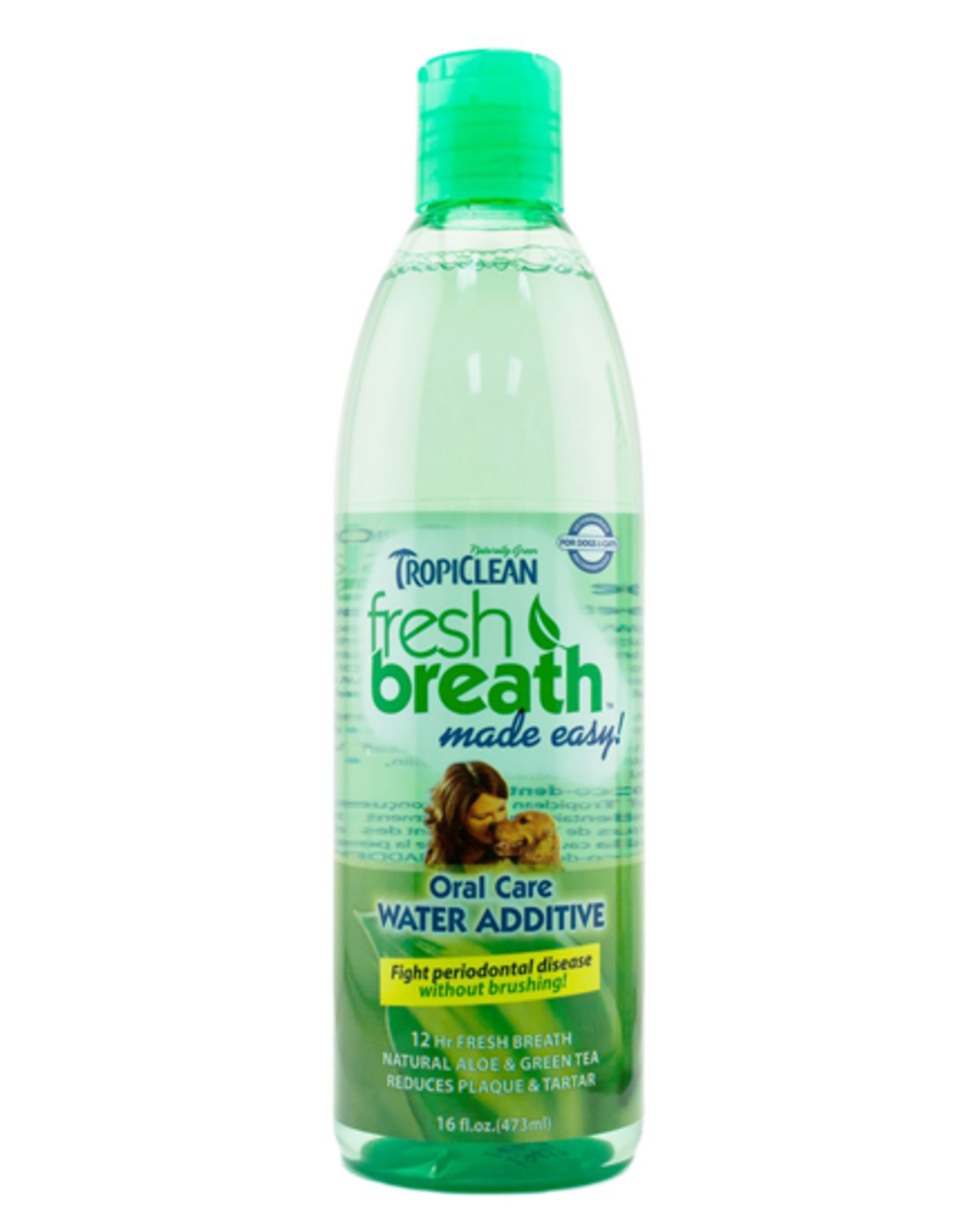 TropiClean FRESH BREATH Water Additive 16oz