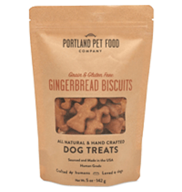 Portland Pet Food PORTLAND PET FOOD Biscuits GF Gingerbread 5oz