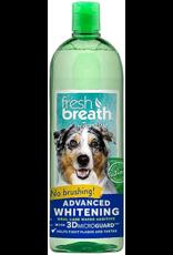 TropiClean FRESH BREATH Additive Whitening 33.8oz