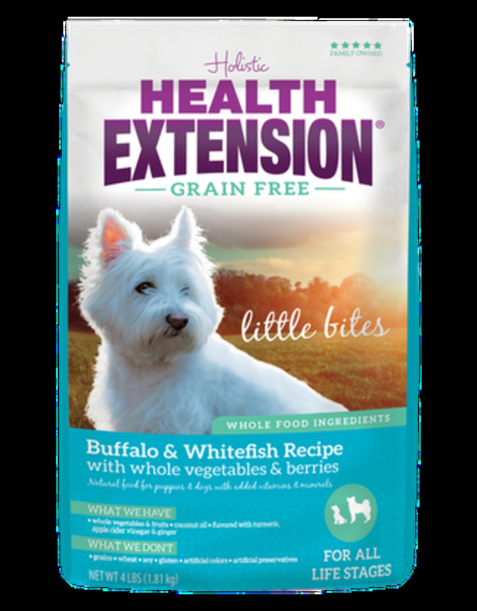 Health Extension H.EXTENSION GF Little Bites Buf/Fsh 4#