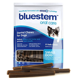 Bluestem Oral Care BLUESTEM Dental Chews Small 21ct