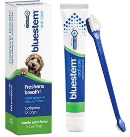 Bluestem Oral Care BLUESTEM ToothpasteToothbrush Vanilla Mint 2.5oz