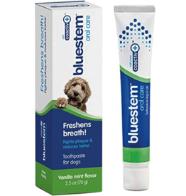 Bluestem Oral Care BLUESTEM Toothpaste Vanilla Mint 2.5oz