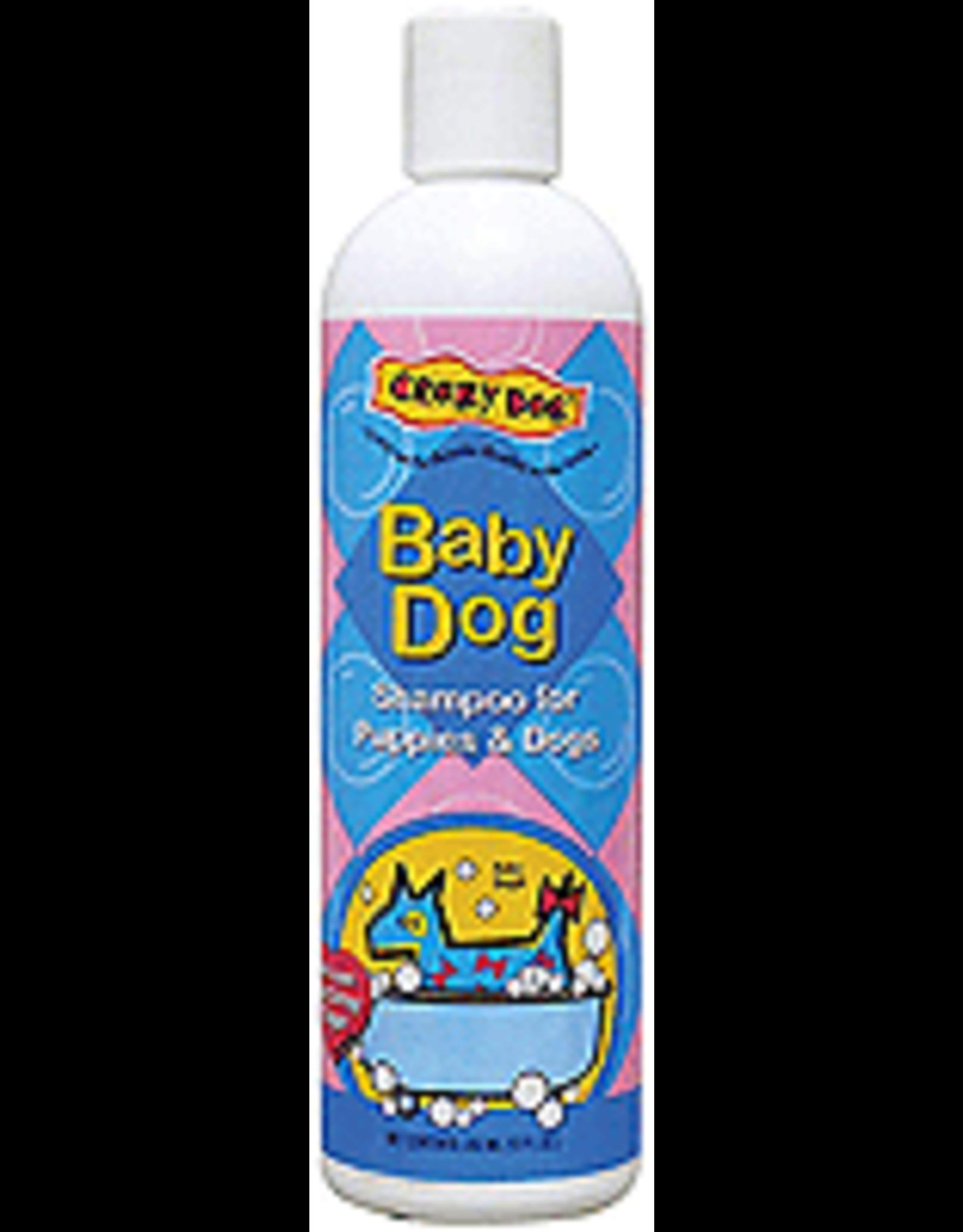 Cardinal Pet CRAZY DOG Baby Powder Shmp 12oz