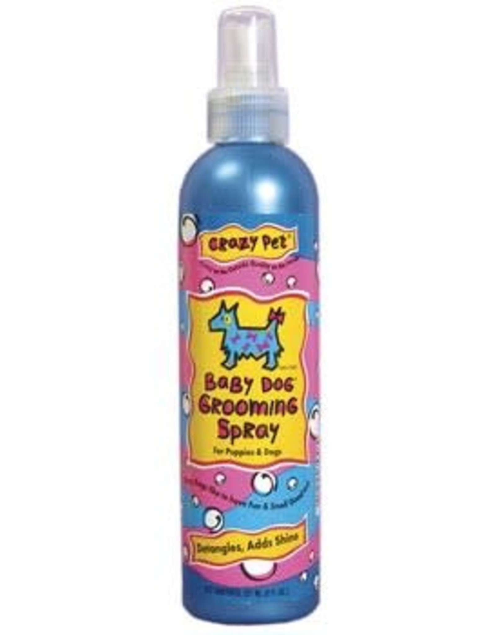 Cardinal Pet CRAZY DOG Baby Powder Spray 8oz