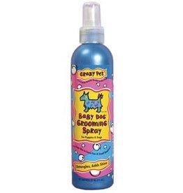 Cardinal Pet CRAZY DOG Baby Powder Spray 8oz