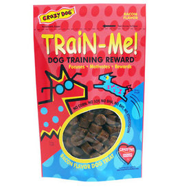 Crazy Pet CRAZY DOG TrainMe Treats Bacon 16oz