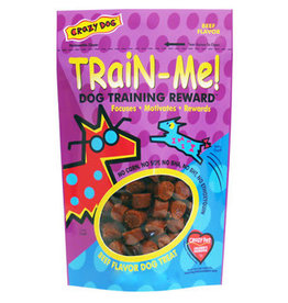 Crazy Pet CRAZY DOG TrainMe Treats Beef 4oz