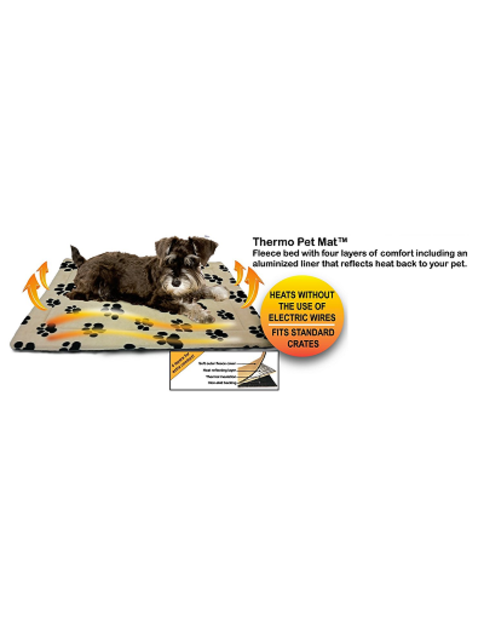 Ethical Pet Products ETHICAL Thermo Pet Mat 51x33in