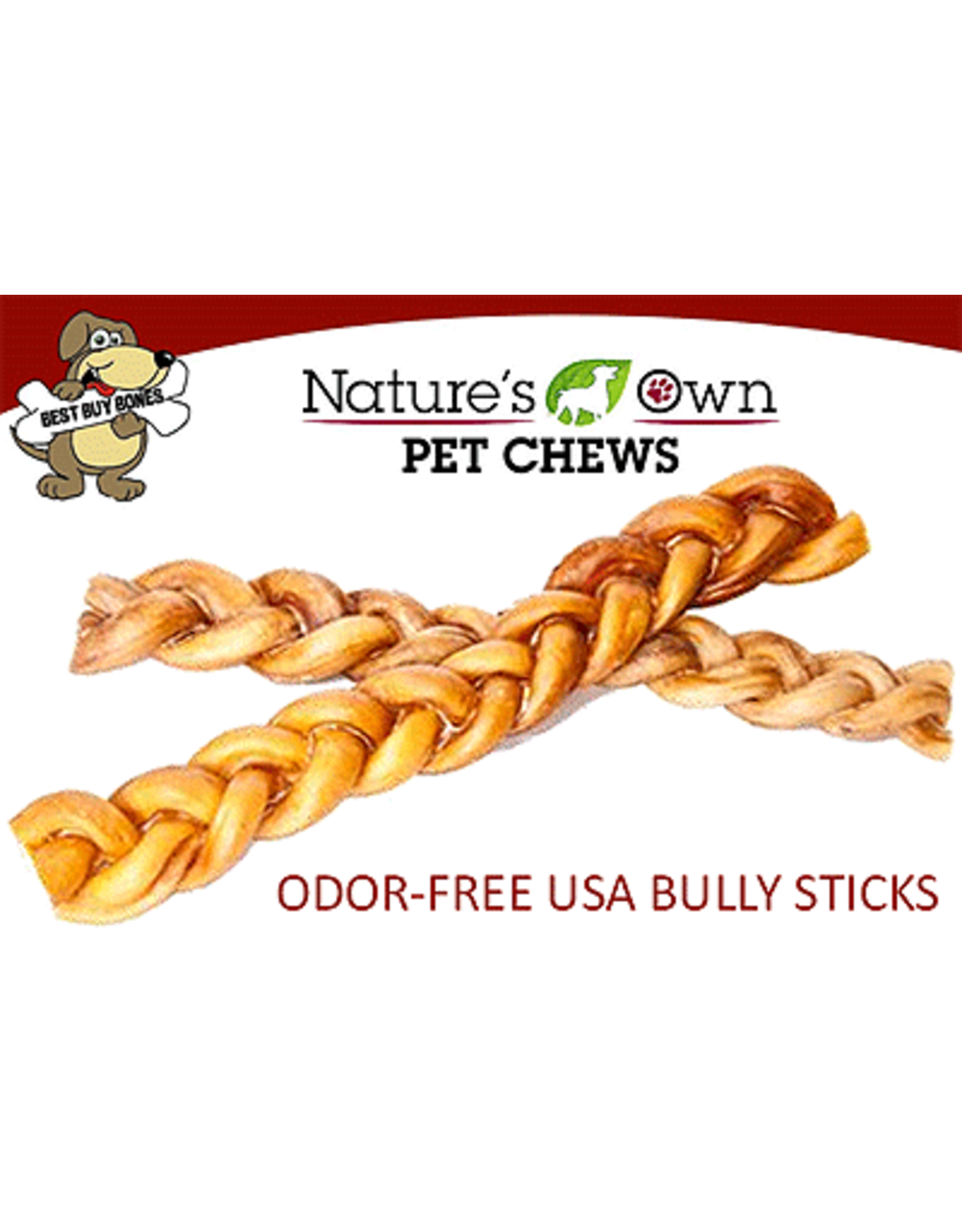 Best Buy Bones BEST BUY Braided Bully 12in 12ct