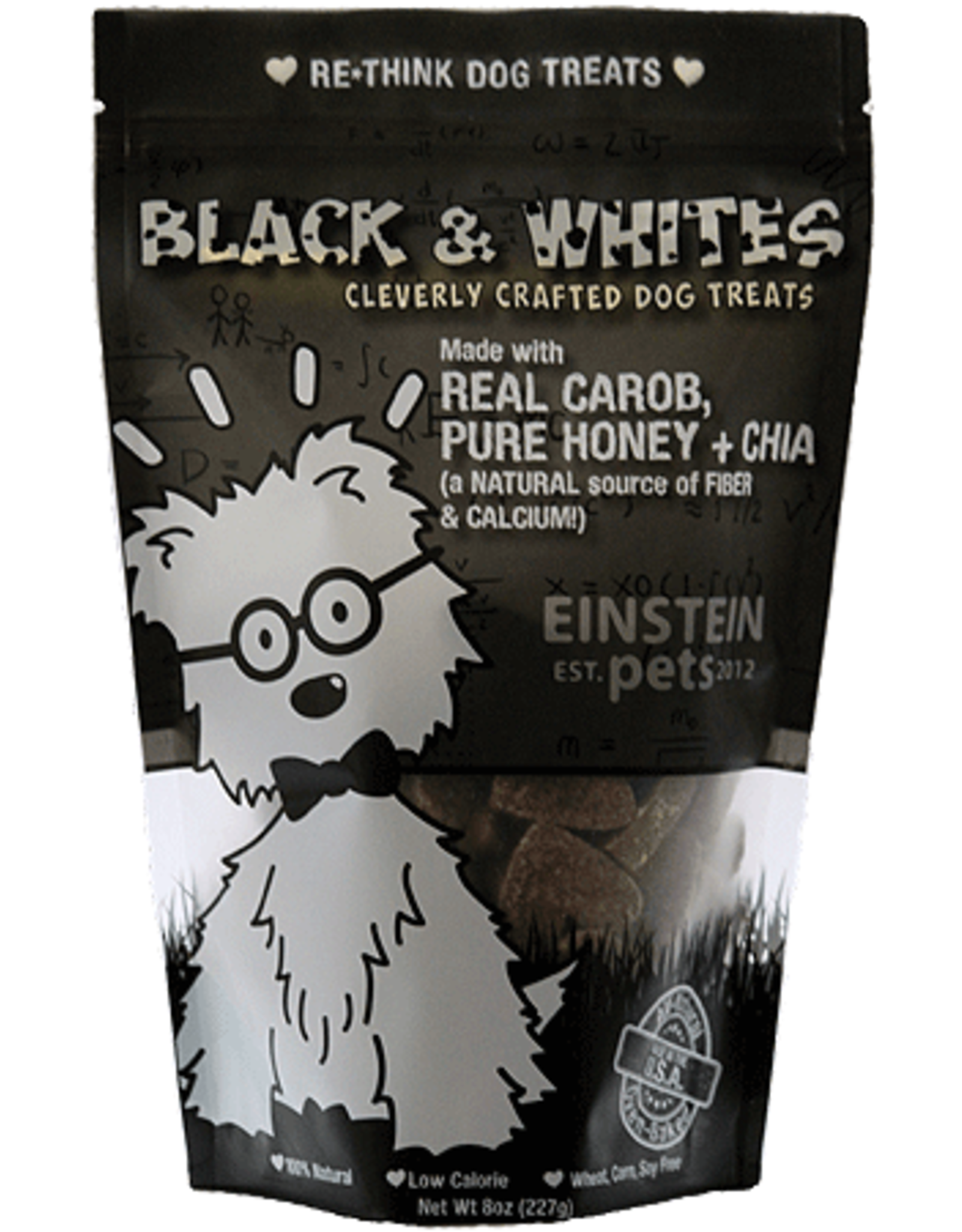 Einstein Pets EINSTEIN PETS Black  Whites 2oz