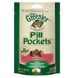 Greenies PILL POCKET Cat 1.6oz Salmon