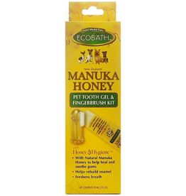 Cardinal Pet CARDINAL Manuka Honey Tooth Gel w/Finger Toothbrush