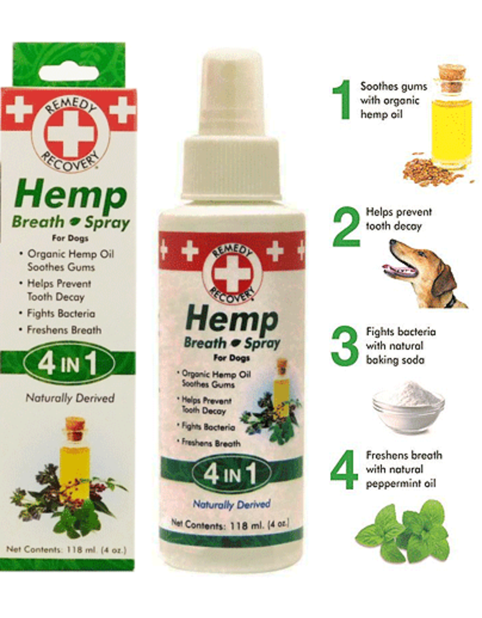Cardinal Pet CARDINAL 4-in-1 Hemp Breath Spray